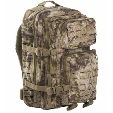 Mil-Tec US Assault Pack 36L Laser Cut - Mandra Tan