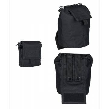 Mil-Tec Empty Shell Pouch Collapsible - Black