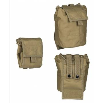 Mil-Tec Empty Shell Pouch Collapsible - Coyote