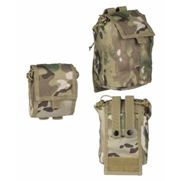 Mil-Tec Empty Shell Pouch Collapsible - Multicam