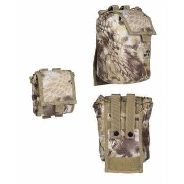 Mil-Tec Empty Shell Pouch Collapsible - Mandra Tan