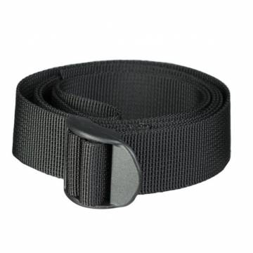 Mil-Tec 25mm Strap w/ Buckle 120cm - Black