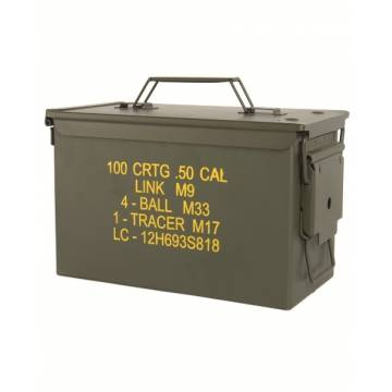 Mil-Tec US M2A1 Cal 50 Ammo Steel Box