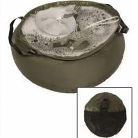 Mil-Tec Foldable 10L R/S Bowl - Olive