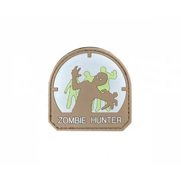 PVC Zombie Hunter Velcro Patch 1
