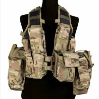 Mil-Tec South African Assault Vest - Multicam