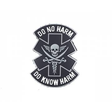 PVC (DO NO HARM) Velcro Patch 3