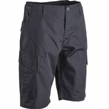 Mil-Tec ACU Short Pants (Rip-stop) Black