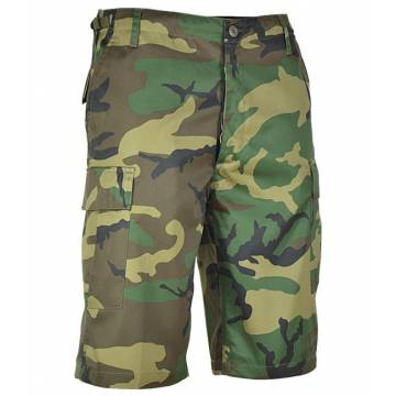 Mil-Tec BDU Short Pants - Woodland