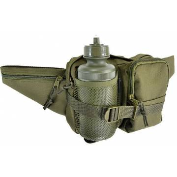 Mil-Tec Waist Bag w/ Canteen - Olive