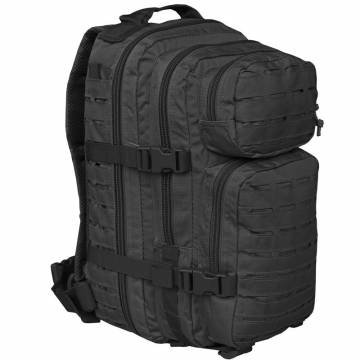 Mil-Tec US Assault Pack S Laser Cut - Black