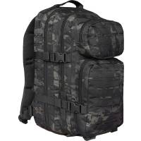Mil-Tec US Assault Pack S Laser Cut - Multicam Black