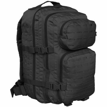 Mil-Tec US Assault Pack L Laser Cut - Black