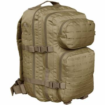 Mil-Tec US Assault Pack L Laser Cut - Coyote