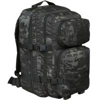 Mil-Tec US Assault Pack L Laser Cut - Multicam Black