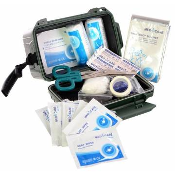 Mil-Tec First Aid Kit Waterproof - Olive