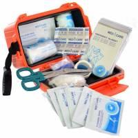 Mil-Tec First Aid Kit Waterproof - Orange