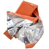 MFH Emergency Blanket - Silver / Orange