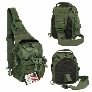 MFH Tactical Shoulder Molle Bag - Olive