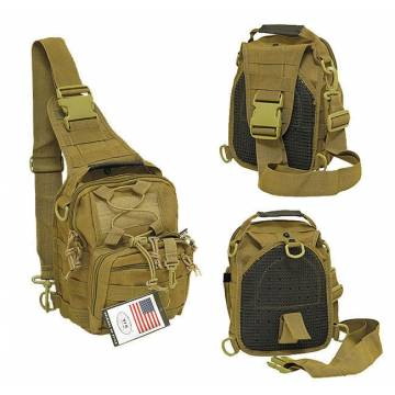MFH Tactical Shoulder Molle Bag - Coyote