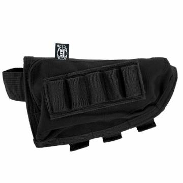 MFH Rifle Stock Bag Lined - Black