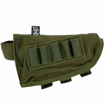 MFH Rifle Stock Bag Lined - Olive