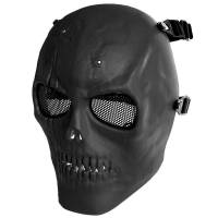 MFH Skull Skeleton Full Protector Mask - Black
