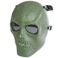 MFH Skull Skeleton Full Protector Mask - Olive
