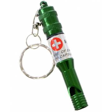MFH Aluminium Whistle Big - Olive