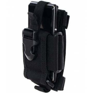 MFH Radio / Phone Holder Resizable - Black