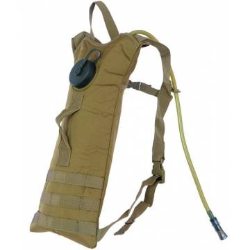 Mil-Tec Basic Water Pack w/ Straps - Coyote
