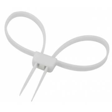 Mil-Tec Plastic Handcuff - Clear