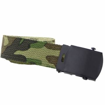 Mil-Tec US Web Belt - Woodland