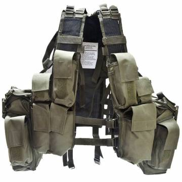 Mil-Tec South African Assault Vest - Olive