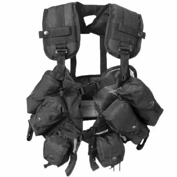 Mil-Tec US M88 Load Bearing Vest - Black