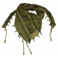 Mil-Tec Shemagh 110x110cm - Olive / Black