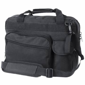 Mil-Tec Brief Case Laptop Bag - Black