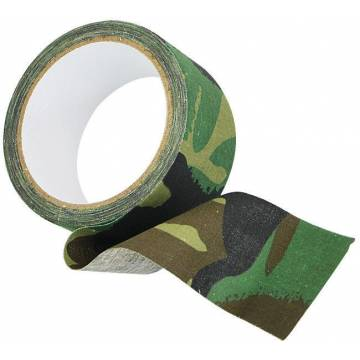 Mil-Tec Adhesive Tape (10m) Woodland