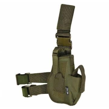 Mil-Tec Tactical Leg Pistol Holster - Olive