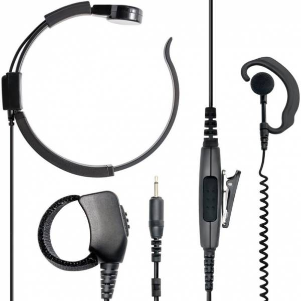 Λαρυγγόφωνο - Ακουστικό VOX-PTT/Finger PTT