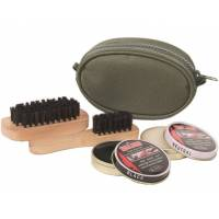 Mil-Tec Shoe Cleaning Kit - Olive
