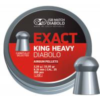 JSB Exact King Heavy 6,35mm (2,2g) 300pcs