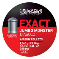 JSB Exact Jumbo Monster 5,52mm (1,645g) 200pcs
