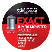 JSB Exact Jumbo Monster 5,52mm (1,645g) 200pcs