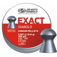 JSB Exact 4,5mm (0,547g) 500pcs