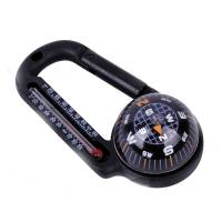 Carabiner Compass w/ Thermometer