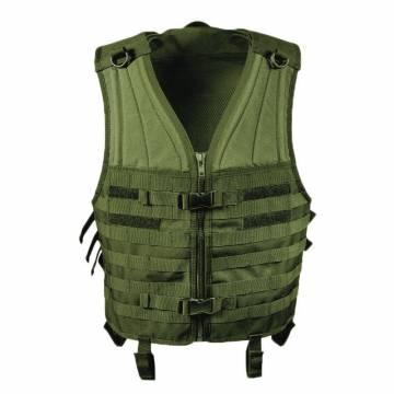 Mil-Tec Molle Carrier Vest - Olive
