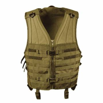 Mil-Tec Molle Carrier Vest - Coyote