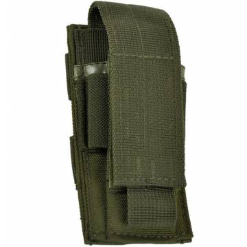 Mil-Tec Single Pistol Magazine Pouch - Olive