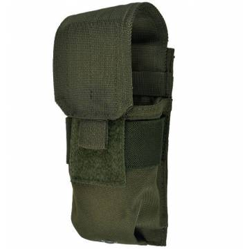 Mil-Tec Single M4/M16 Magazine Pouch - Olive